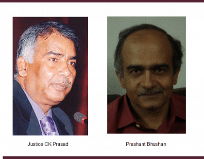 Prashant Bhushan now files criminal complaint against Justice CK Prasad; Seeks registration of FIR by CBI