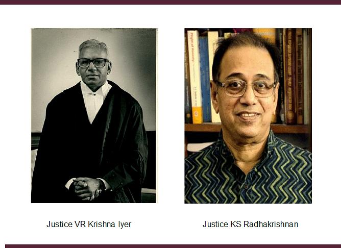 """His Contribution to the development of Human Rights jurisprudence is unparalleled"", Justice KS Radhakrishnan remembers Justice VR Krishna Iyer"