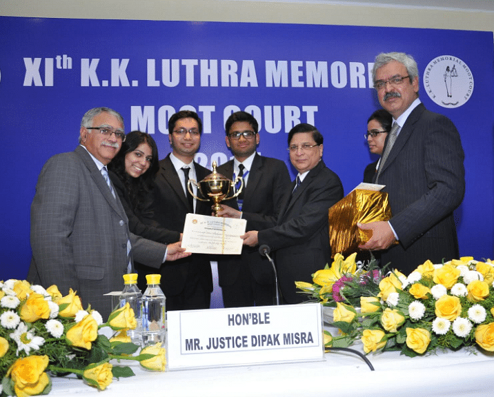 NUJS wins K. K. Luthra Memorial Moot Court Competition, CLC clinch second