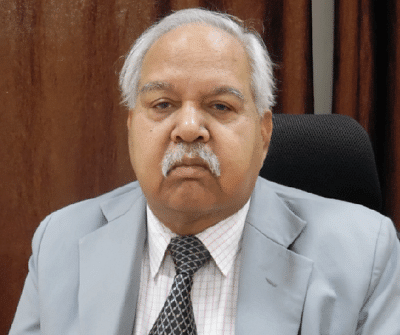 Dr. BC Nirmal, former Vice-Chancellor, NUSRL Ranchi
