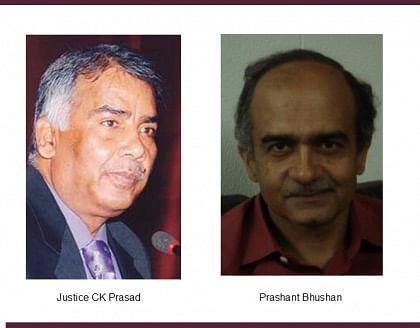 Prashant Bhushan v. Justice CK Prasad: PIL filed seeking removal of Prasad J. as PCI Chairperson, registration of FIR for criminal misconduct