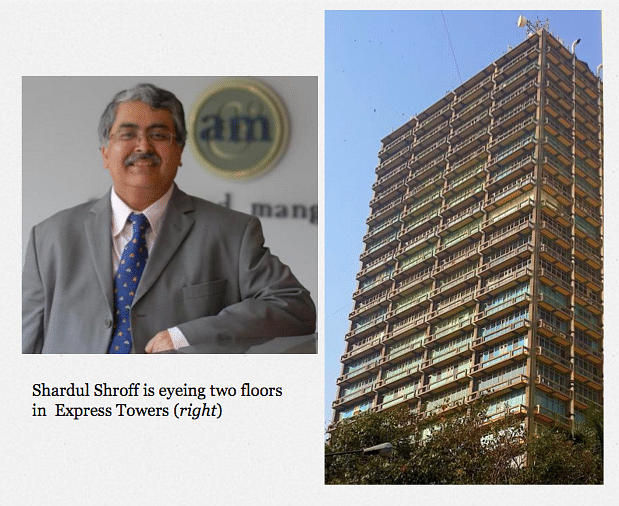 SAM strikes in Bombay! – Shardul may have 3 offices in Mumbai, looking to acquire Zia's Express Towers office