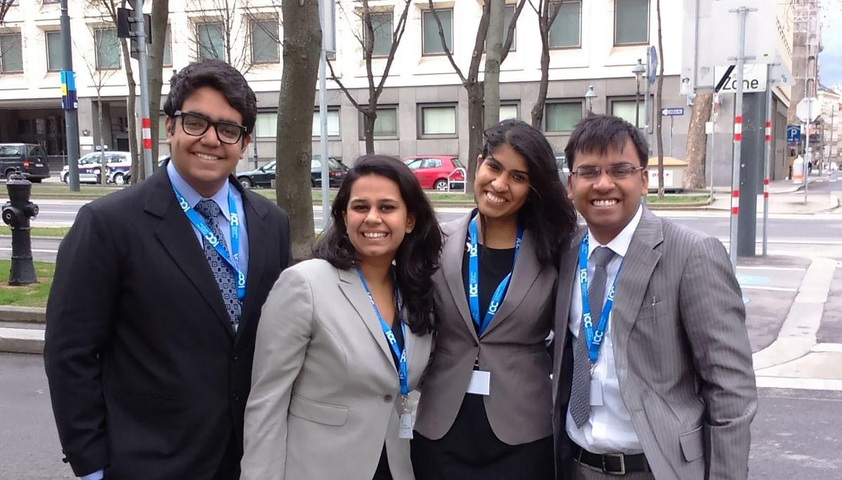 Meet NLU Jodhpur's Vis Vienna team – The first Indian team to win Best Respondent Memo at Vienna