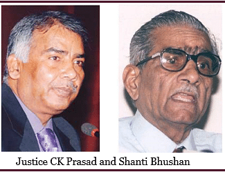 SC refuses to entertain Prashant Bhushan's PIL against Justice CK Prasad; Opts not to open 'dangerous door in democracy'