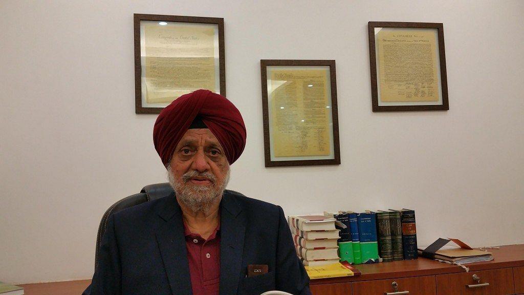 RS Cheema, Senior Advocate