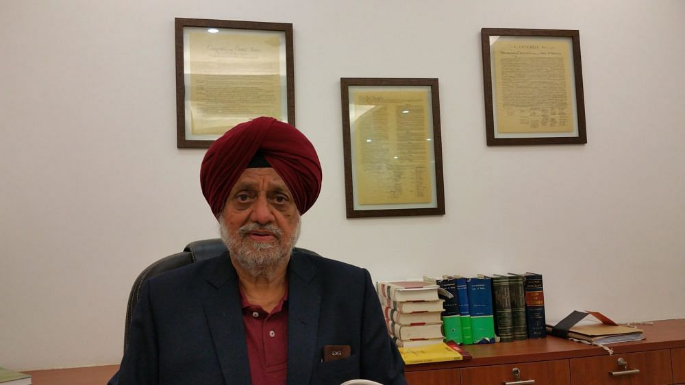 Senior Advocate RS Cheema
