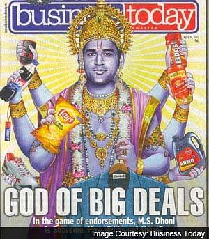 Breaking: MS Dhoni moves Supreme Court in 'Lord Vishnu picture' controversy