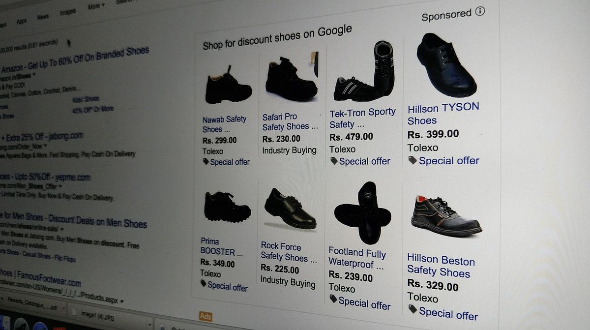Online shoe sales