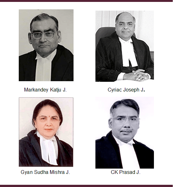 Tweeter, Non-performer, late comer – former SC judges who feature in NJAC judgment
