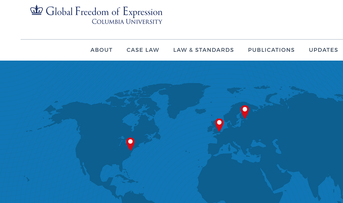 Global Freedom of Expression