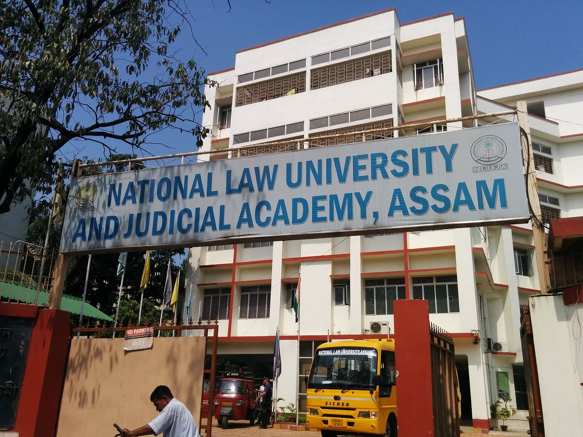 NLU Assam on lockdown: Police forces deployed amid student protests