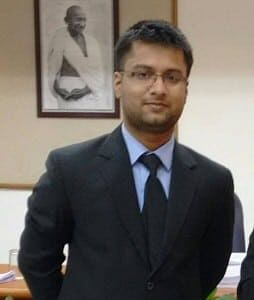 Co-author Mohit Diwakar is a fourth-year student at NUJS