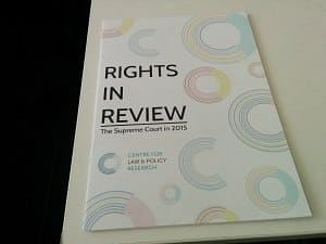 This year's edition centres around the Supreme Court's verdicts on the core rights – life, liberty, equality and religion.