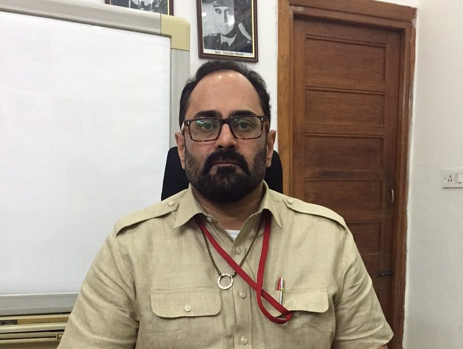"""Parliamentary debate and rule of law keep democracy together"" Rajeev Chandrasekhar"