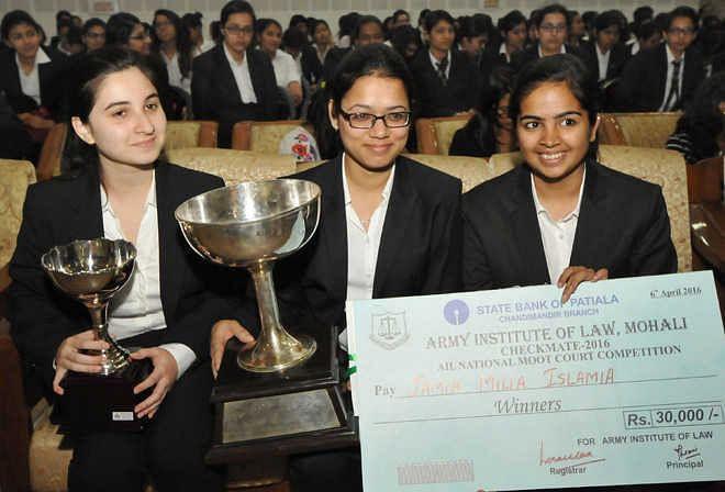 Jamia Milia Islamia wins AIL Mohali's Checkmate, 2016
