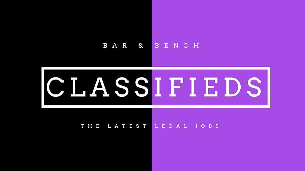 Bar & Bench Classifieds