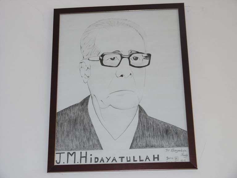 Former Chief Justice of India, Mohammad Hidayatullah