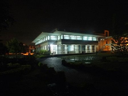 """""""Law schools said that they would make lawyers social engineers"""" (In pic: NALSAR University, Hyderabad)"""