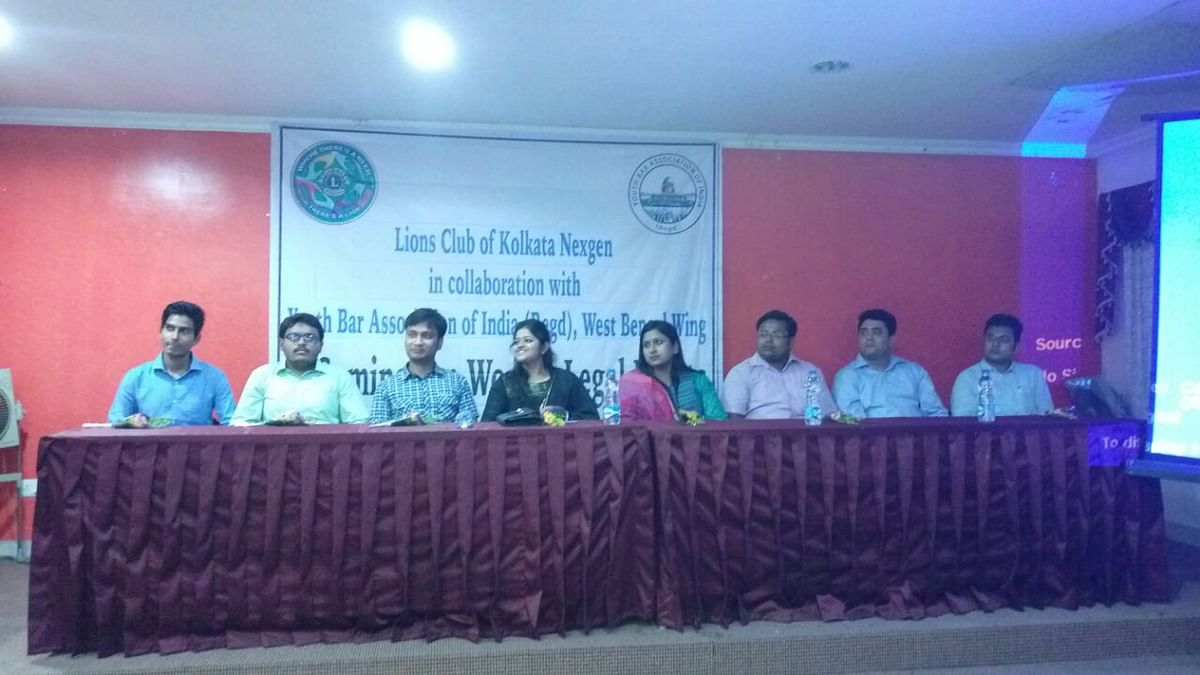 Youth Bar Association of India (West Bengal Wing) organises a seminar on Women's Rights