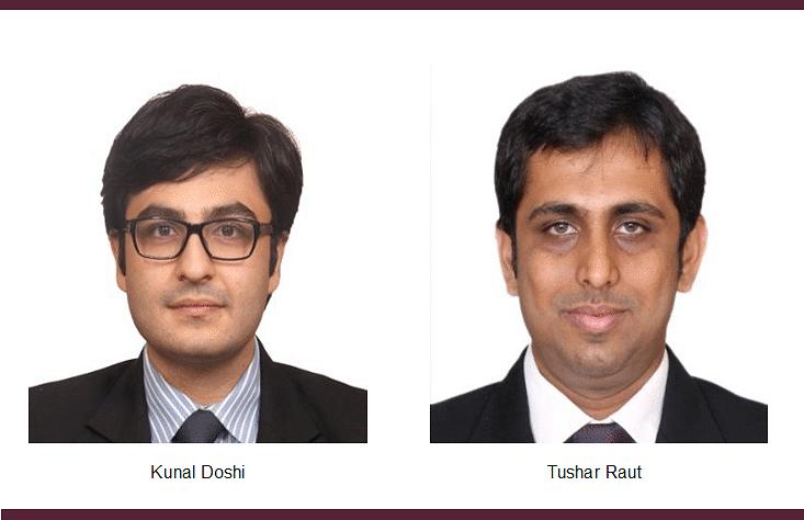 Abhijit Joshi's Veritas Legal promotes Tushar Raut, Kunal Doshi to partnership