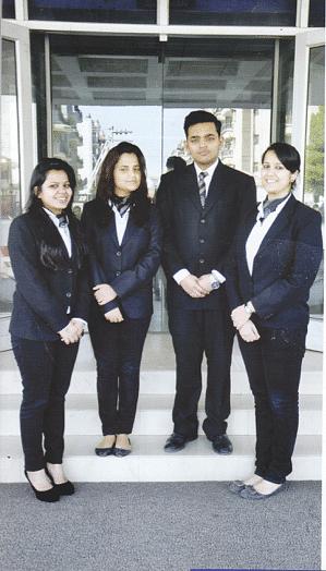 The Placement Committee of AIL comprised Sarika Soam, Subhendu, Anjali Raina and Chitwan