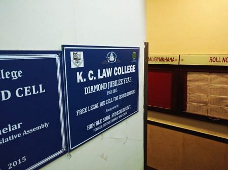 KC Law College is also one of the colleges that may have been hit by the BCI's accreditation policies