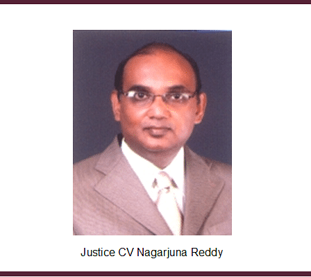 Allegations of dalit atrocities and nepotism against CV Nagarjuna Reddy J. of Andhra Pradesh