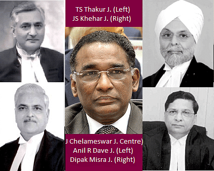 Judge v. Judge: Justice Jasti Chelamewar and other battles