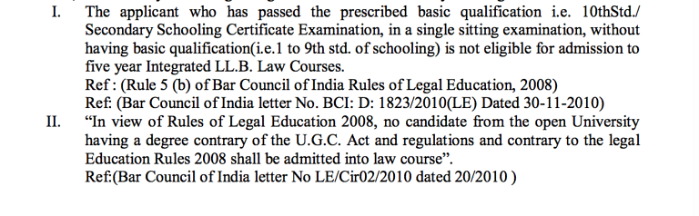 The initial CET rules notified on March 11, 2016