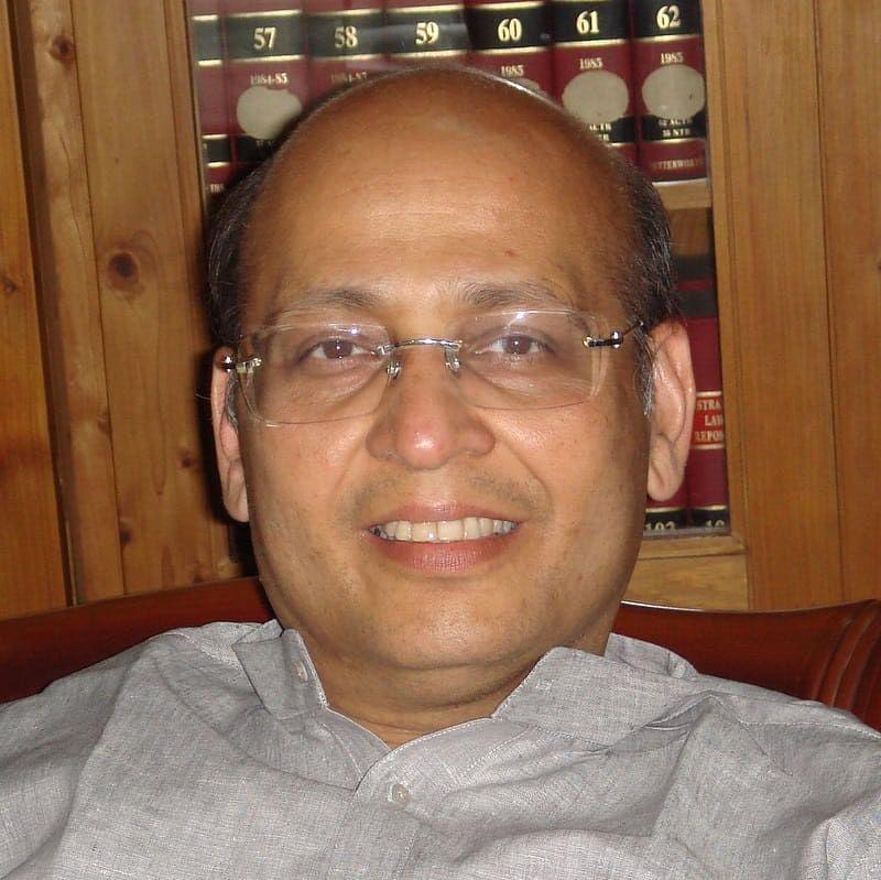 Abhishek Singhvi, Senior Advocate