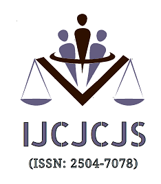 Call for Papers: International Journal of Criminal Jurisprudence and Criminal Justice System (Submit by January 5)