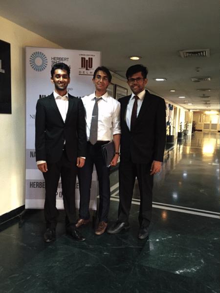 Shivansh, Harsh & Aman from the JGLS team.