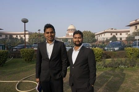 Kumar Shanu and Paras Jain of WHIP