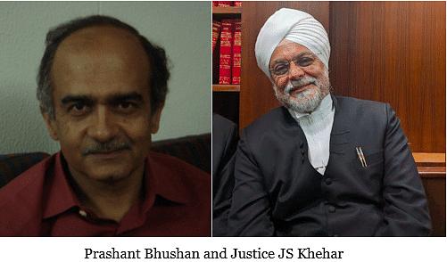 Prashant Bhushan in heated exchange with judges in the Birla, Sahara raids case
