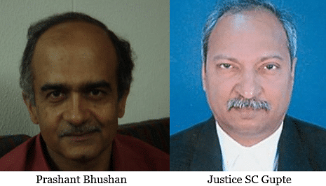 Prashant Bhushan objects to Bombay HC judge hearing a case involving Reliance