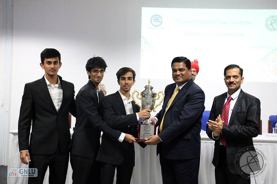 NALSAR wins GNLU International Moot Court Competition