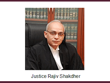 Justice Rajiv Shakdher transferred back to Delhi High Court [Read Notification]