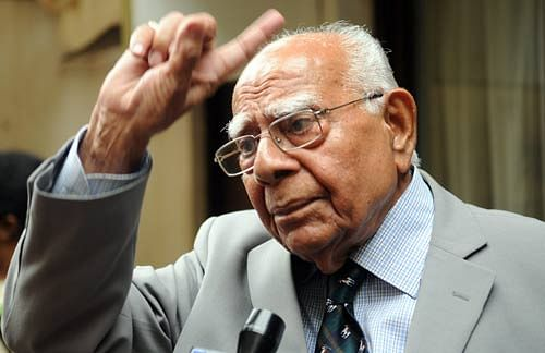 Senior Advocate Ram Jethmalani passes away