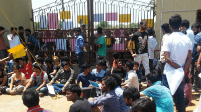 Student protest continues at NUSRL, Talks with High Court judges bear little fruit