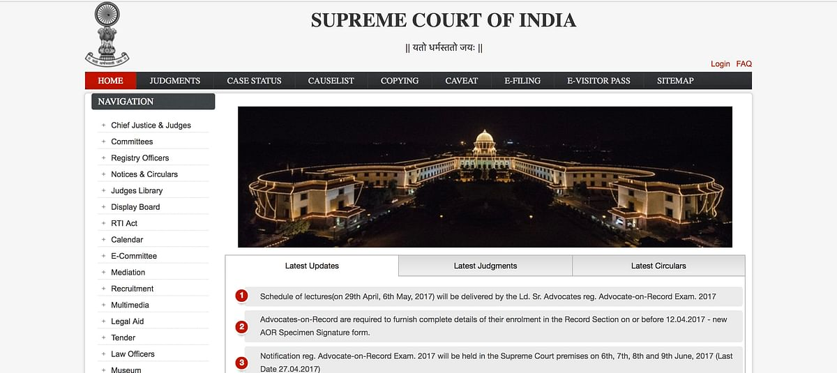 New website of Supreme Court of India launched; Digital filing to overhaul the existing system