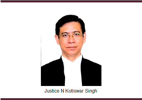 Justice N Kotiswar Singh appointed Acting Chief Justice of Gauhati High Court [Read Notification]