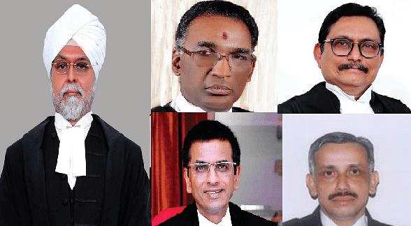 Breaking: Constitution Bench of CJI JS Khehar, Chelameswar, SA Bobde, DY Chandrachud, Abdul Nazeer JJ. to hear Aadhaar case
