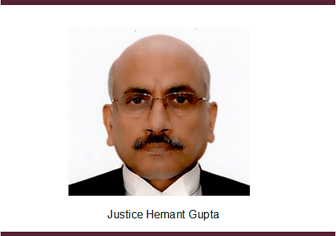 Justice Hemant Gupta