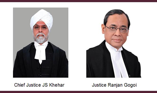 "Senior Designations: CJI Khehar to ""talk to Ranjan Gogoi J."" to explore possibility of resuming the process"