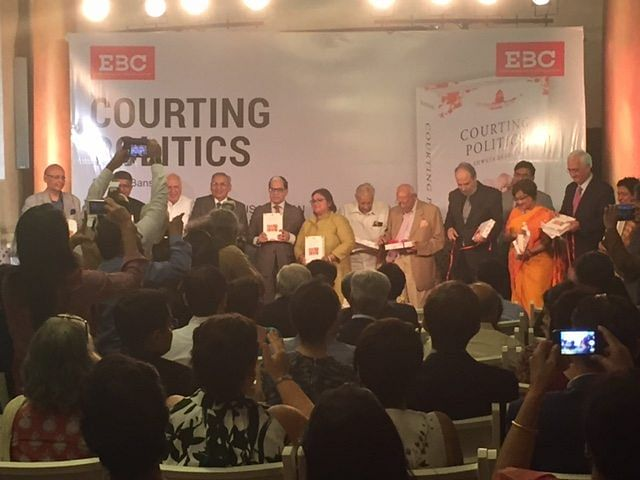 'Courting Politics': Book Launch brings together Enemies in Politics and Colleagues at the Bar