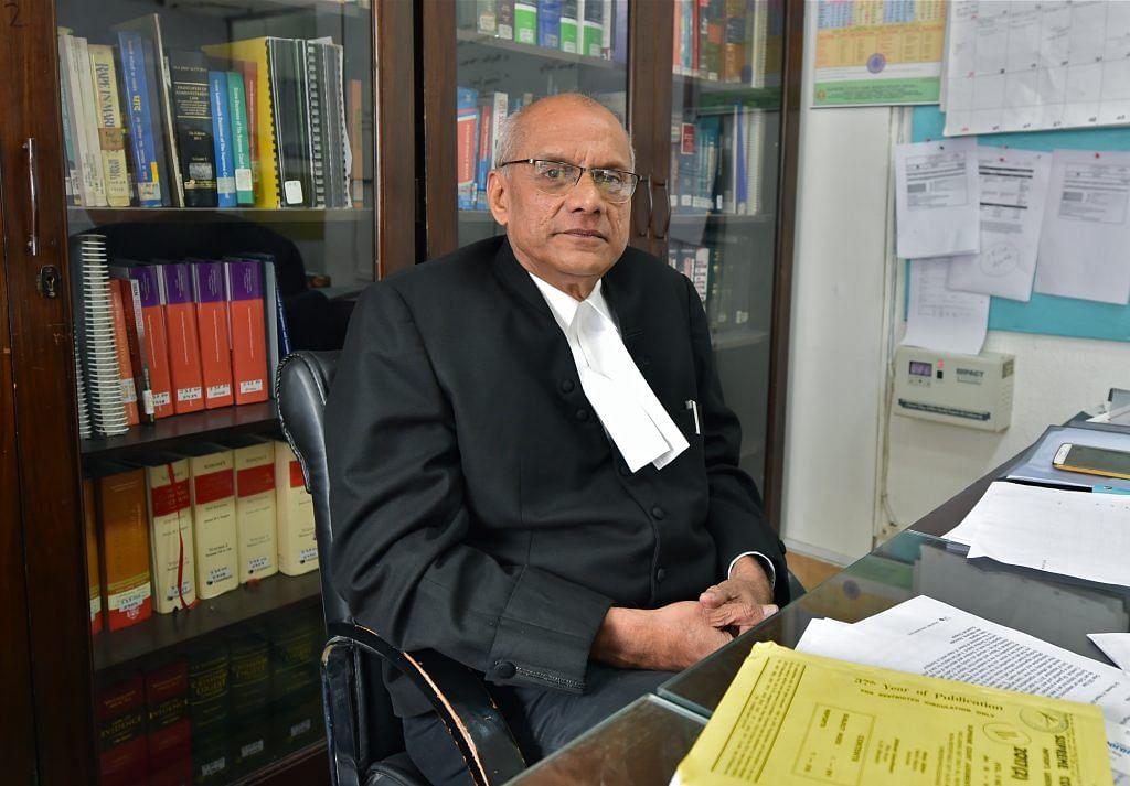 Senior Advocate Colin Gonsalves