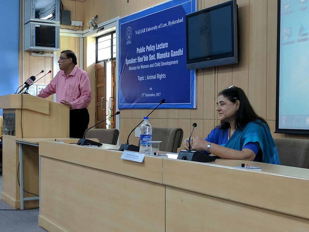 India's first Animal Law Centre Inaugurated at NALSAR