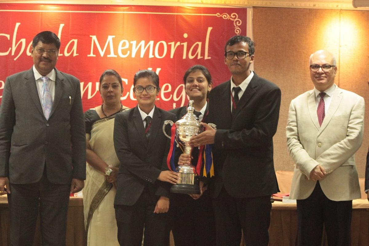 NUSRL, Ranchi winners of 24th MC Chagla Moot Court Competition, 2017