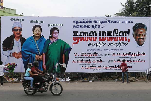 Madras HC bans hoardings, banners featuring live persons