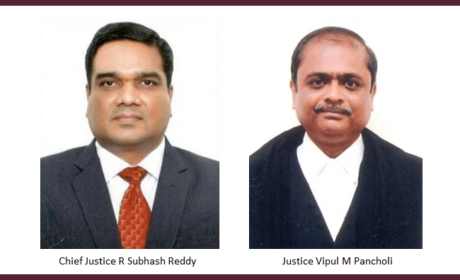 Affidavits cannot be filed without the leave of the court after Rule is issued, Gujarat High Court